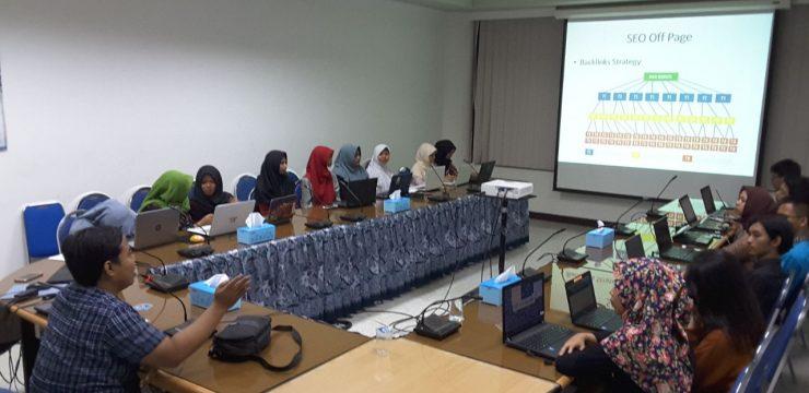 Workshop Optimalisasi Website Fakultas